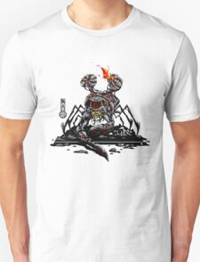 The Game of Kings, Wave Five: The Black King-Rook's Pawn Unisex T-Shirt