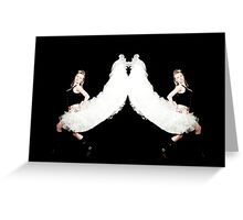 TWO QUEENS IN ONE ISLE Greeting Card