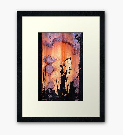 The Fury Framed Print