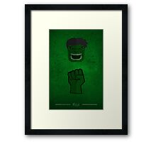 The Beast - Hulk  Framed Print