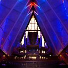 USAF Academy Chapel  by Paul Albert