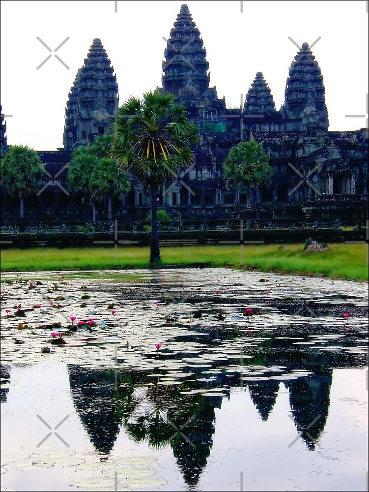 ANGKOR WAT   CAMBODIA by webgrrl