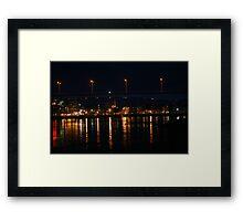 Saint John at Night Framed Print