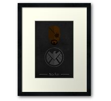 The Boss - Nick Fury  Framed Print