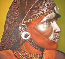 Maasai Moran {maasai Warrior} by wachania
