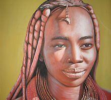 Himba woman by wachania