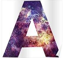 A nebula stars pattern  Poster
