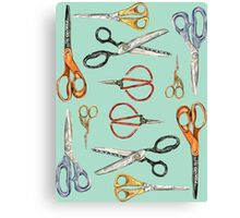 Scissors Collection Canvas Print