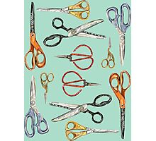 Scissors Collection Photographic Print