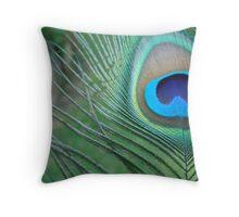 Smock Peacock Throw Pillow