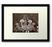 Morbid Chandelier Framed Print