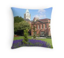 Abbey House & Gardens, Winchester, southern England Throw Pillow