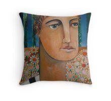 The Triumphant Gardener Throw Pillow