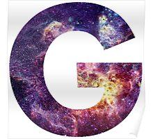 G nebula stars pattern Poster