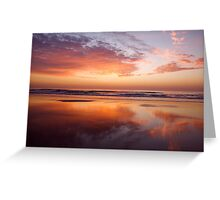 Sand Mirror Greeting Card