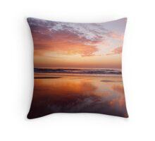 Sand Mirror Throw Pillow