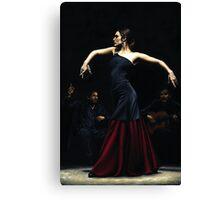 Encantado por Flamenco Canvas Print