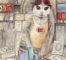 Fitztown welder Meerkat by morgansartworld