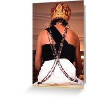 High Priest, Ubud, Bali Greeting Card