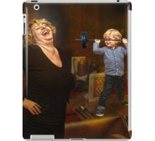 Weight Watcher iPad Case/Skin