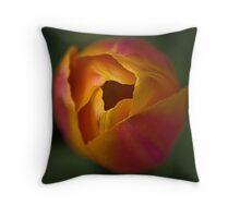 Tulip - square crop Throw Pillow