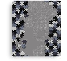 Jigsaw puzzle pieces Canvas Print