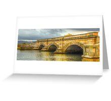 A River Runs Through It -Ross Bridge c1836 - Ross Tasmania - The HDR Experience Greeting Card