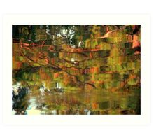 Nature In Abstract Art Print