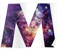 M nebula stars pattern  Poster