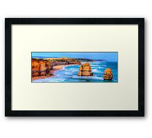 Degrees Of Separation #2 - Twelve Apostles - The HDR Experience Framed Print