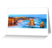Degrees Of Separation #2 - Twelve Apostles - The HDR Experience Greeting Card