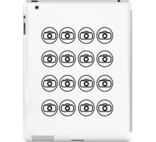 Camera icons iPad Case/Skin