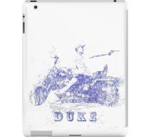 The Duke (Biro) iPad Case/Skin