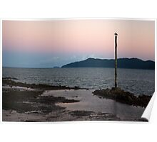 Resting ~ Flying Fish Point Sunset Poster