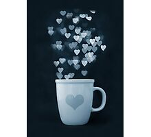 Tea : Love : Coffee Photographic Print