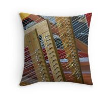Harps Throw Pillow