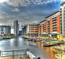 Clarence Dock HDR by Robert St-John Smith