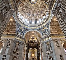 St. Peters Basilica by shutterjunkie