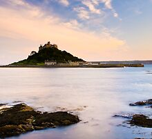St Michaels Mount At Dusk by ianwoolcock