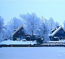 Winter in Friesland by Kaukahi