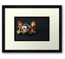 Mary & Marge. Framed Print