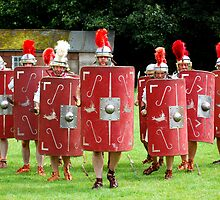 Romans at Ribchester by davidrhscott