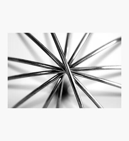 Hand Whisk Macro Photographic Print