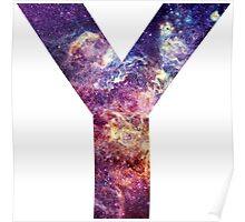 Y nebula stars pattern  Poster