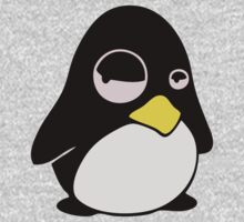LAZY LINUX TUX PENGUIN One Piece - Long Sleeve