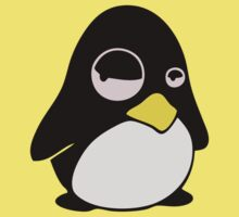 LAZY LINUX TUX PENGUIN Kids Tee