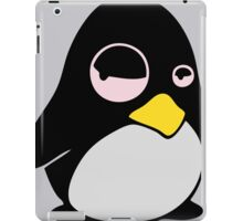 LAZY LINUX TUX PENGUIN iPad Case/Skin