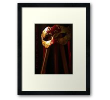 Phantom of the Easel Framed Print