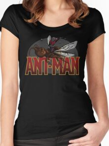 """Ant-Man """"Flying-Ant Rodeo"""" Women's Fitted Scoop T-Shirt"""