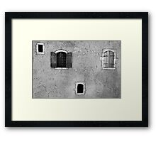 The small house Framed Print